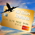 Airplane Miles Credit Card